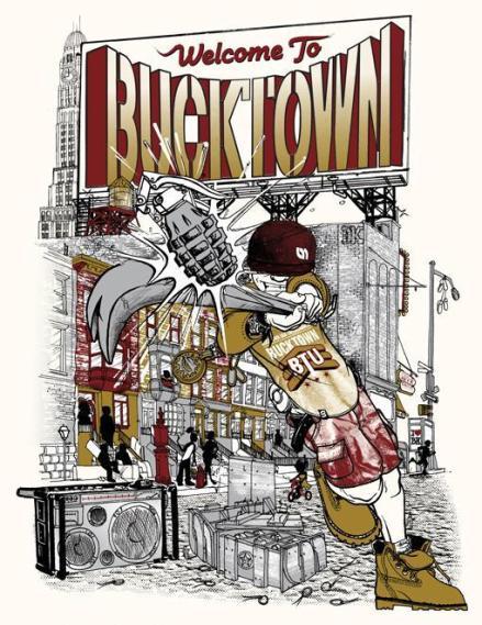 Amierinkz-Bucktown Colab Shirt