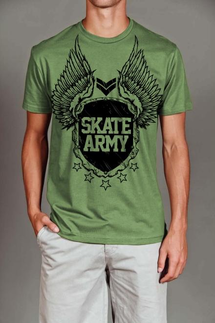 Amierinkz - Skate Army -Tee