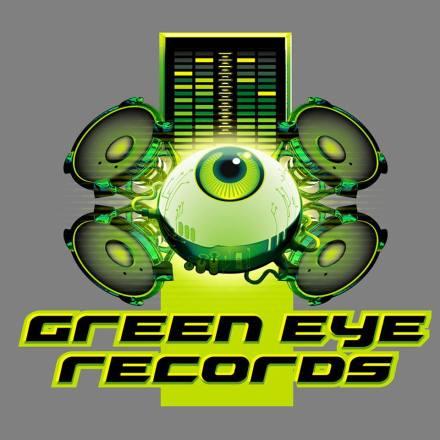 Amier Inkz - Green Eyed Records Logo Art